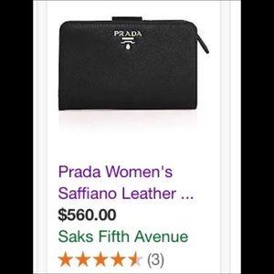 ❤️🔥Prada Wallet Brand new with box 🔥❤️